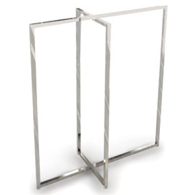 вешалка для магазина одежды металлическая