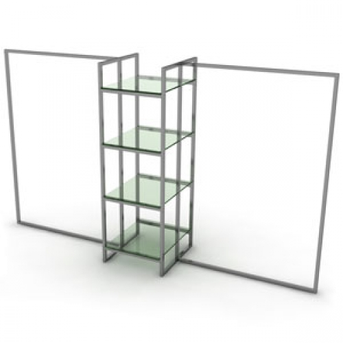 фото напольной вешалки для одежды со стеклом