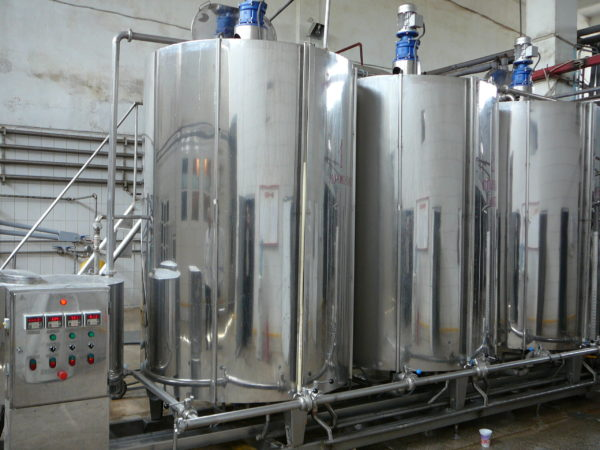 Емкости для производства тосола