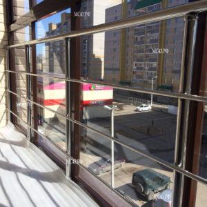 Ограждение балкона из нержавеющей стали