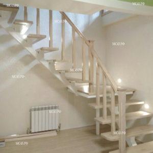 Металлическая лестница в частном доме Киров