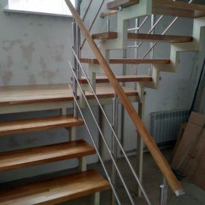 Лестница в частном доме в Кстинино
