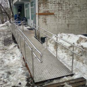 Пандус для инвалидов в Кирове