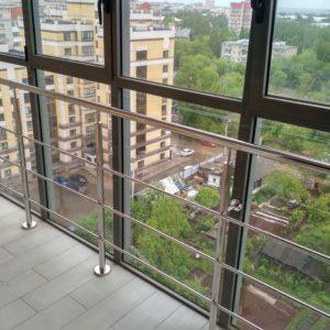 Ограждение балкона нержавейка